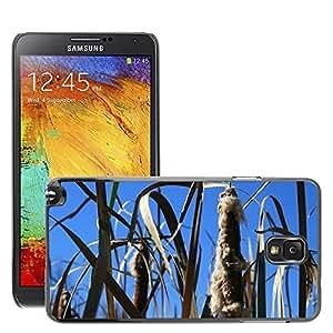Etui Housse Coque de Protection Cover Rigide pour // M00109930 La naturaleza Campo de otoño al aire // Samsung Galaxy Note 3 III N9000 N9002 N9005