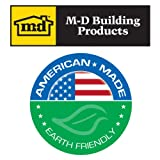 M-D Building Products 50142 3/8-Inch Wall 3/4-Inch by 3-Feet Tube Pipe Insulation 4-Pack