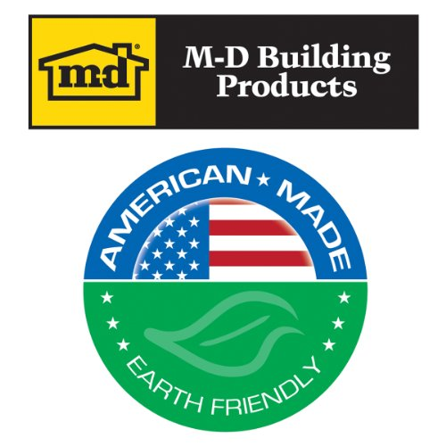 M-D Building Products 70441 Edging A830 96-Inch Aluminum Moulding, Anodized by M-D Building Products (Image #1)