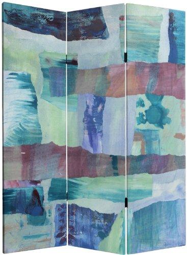 Oriental Furniture 5 ft. Tall Ocean Dance Canvas Room Divider by ORIENTAL FURNITURE
