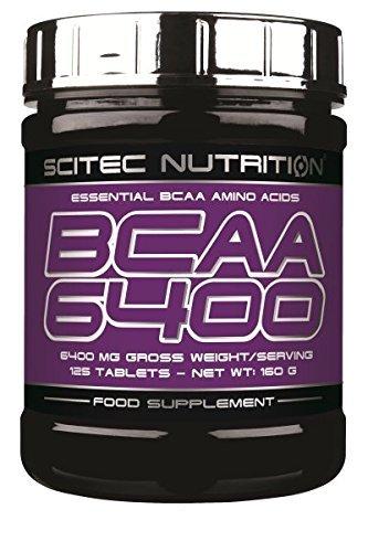 190 opinioni per Scitec Nutrition BCAA 6400 375 compresse