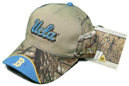 NEW! California Bruins Buckle Back Hat Embroidered Real Tree Camo Cap - UCLA