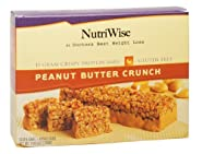 NutriWise - Peanut Butter Crunch Diet Protein Bars (7 bars)
