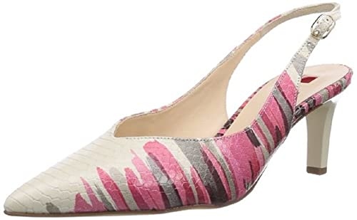 online retailer 9c6f9 7164d Hogl Women's 9-106108 Smart Pointed Toe Sling-Back Court ...