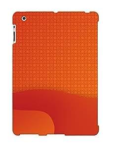 Crazinesswith Cute Tpu RnfchmN1812KeAwR Orange Pattern Case Cover Design For Ipad 2/3/4