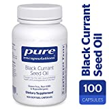 Pure Encapsulations - Black Currant Seed Oil - Hypoallergenic Dietary Supplement - 100