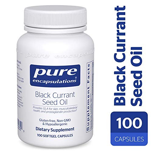 Pure Encapsulations - Black Currant Seed Oil - Hypoallergenic Dietary Supplement - 100 Softgel Capsules