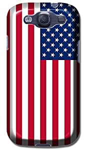 LKPOP Cases / Covers Beautiful USA Flag Design American Flags Cell Phone Case For Samsung Galaxy S3 i9300 No.4 by lolosakes