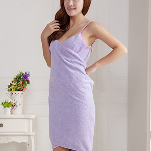 Wearable Extra Up Bath Fuzzy Super Strapless Cover Towel Ladies Bath Water Pink Purple Absorbent Tube Women Skirt Dress Bathrobe for Spa Sexy Soft Body 8xr8qHYn