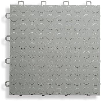 Blocktile B0us4230 Garage Flooring Interlocking Tiles Coin Top Pack
