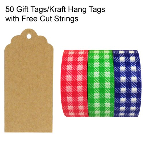 Wrapables Scalloped Kraft Strings Crafts