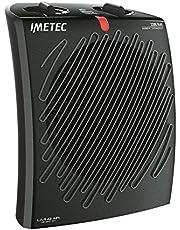 Imetec Living Air M2-400 Termoventilatore con Ionizzatore 2200 W, 3 Livelli di Temperatura, Termostato Ambiente, Nero