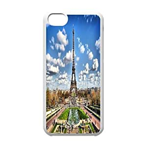Custom Eiffel Tower Hard Back Cover Case, Custom Brand New Hard Back Case for iPhone 5C Eiffel Tower