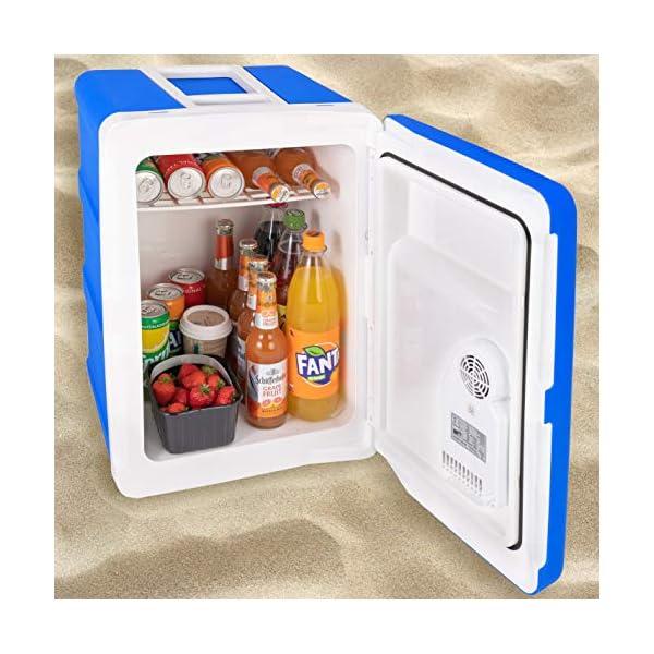 51IK5u%2BCgbL Kesser® 40L Kühlbox mit Rollen | zum Warmhalten und Kühlen | Thermo-Elektrische Kühlbox | 12 Volt und 230 Volt| Mini…