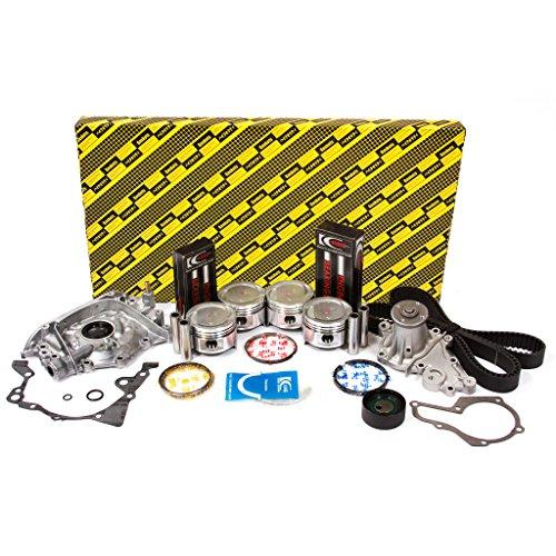 (Evergreen OK8000/2/0/0 86-95 Suzuki Samurai Sidekick 1.3L SOHC 8V G13A Engine Rebuild Kit)
