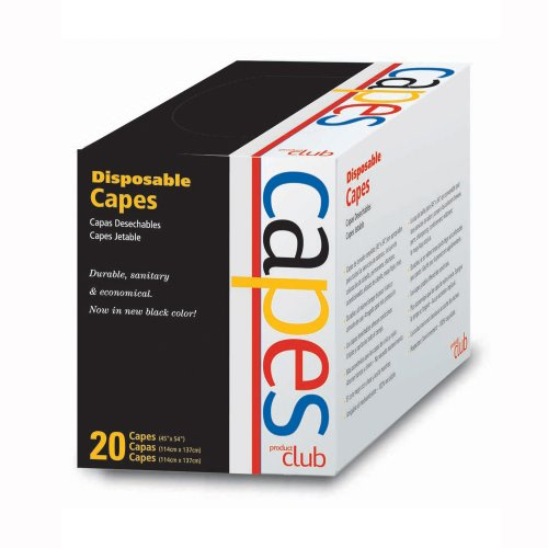 Product Club Disposable Capes 20 Count