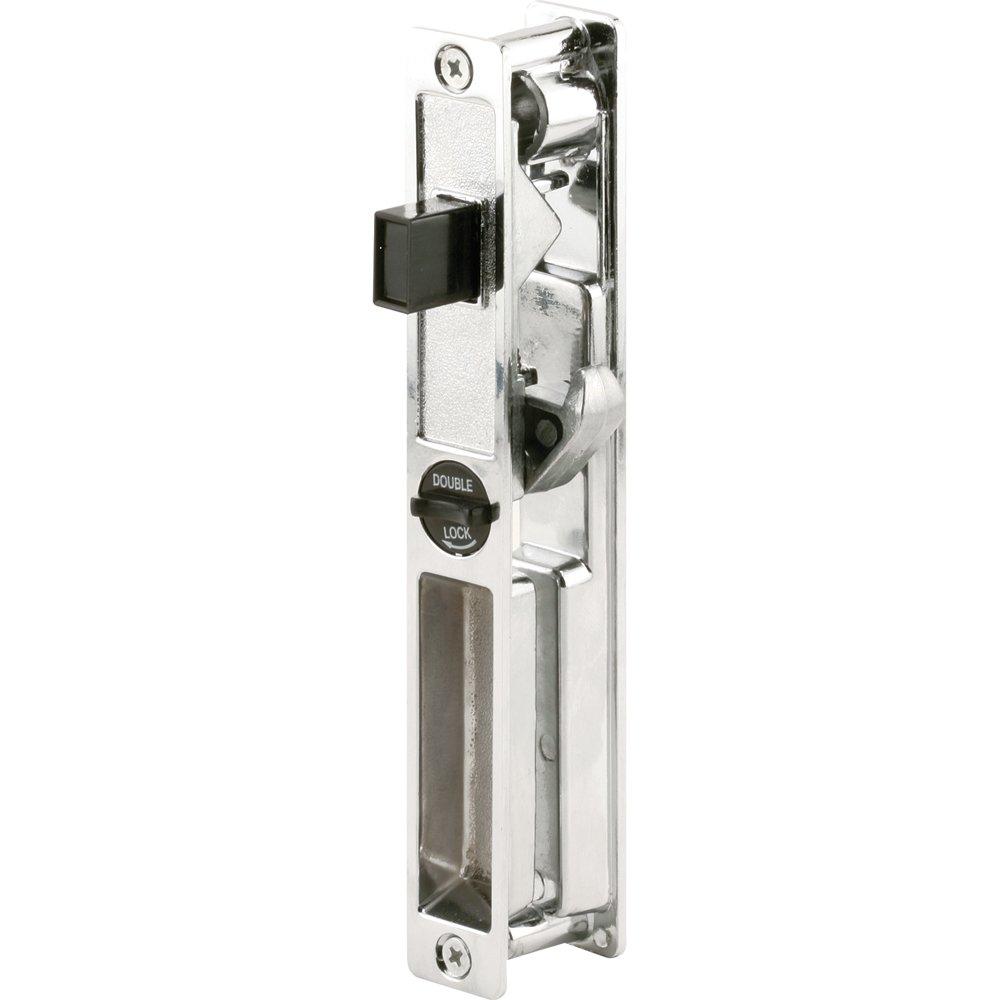 Slide-Co 14902 Sliding Door Handle Set, Chrome/Diecast