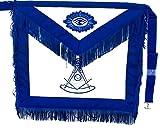D3000F Apron Masonic Past Master + Fringe