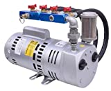 EasyPro PA75A Rotary Vane Pond Aeration System 3/4 HP Kit Tubing Not Included