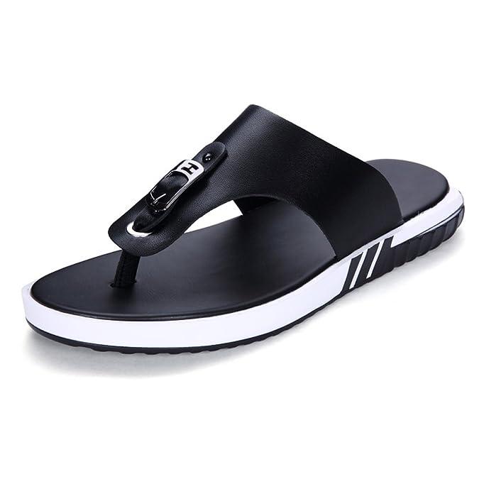 Para Piel Hombre Tanga Fang De Casual ShoesSandalias Zapatos 9EDH2I