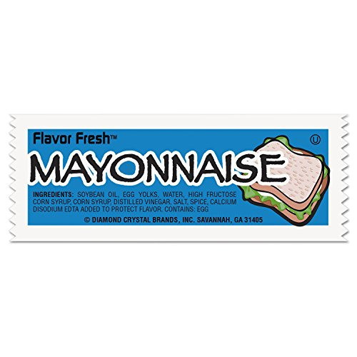 Diamond Crystal Brands 78030 Flavor Fresh Mayonnaise Packets .317oz Packet 200/carton