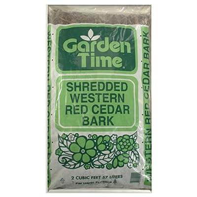 2 Cuft, Shredded Western Red Cedar Mulch