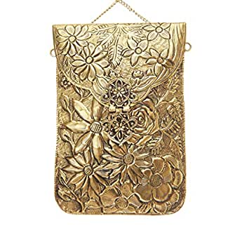 From St Xavier Women's Jasmine Coin Purses & Pouches, Gold, OneSize