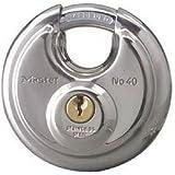 Master Lock Padlock, Stainless Steel Discus Lock, 2-3/4 in. Wide, 40DPF