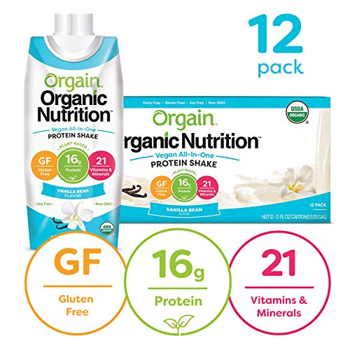 Organic Nutrition Vegan All-In-One Protein Shake
