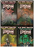 Famous Lensman Series - 4 Titles - #1-4: Triplanetary, First Lensman, Galactic Patrol, Gray Lensman