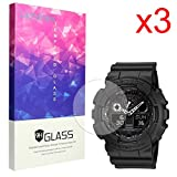 Lamshaw Screen Protector for Casio G-SHOCK The GA 100 Smartwatch (3 pack)
