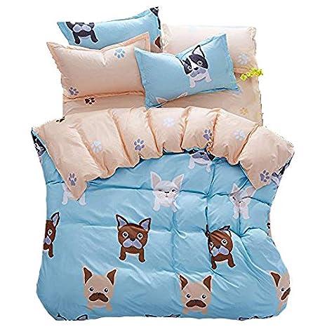 Amazon.com: Conjunto de ropa de cama para niños de 4 ...