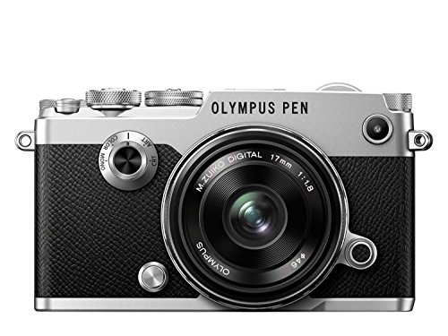 Digital Cameras OLYMPUS PENF SILVER 20MPIXELS KIT 17MM