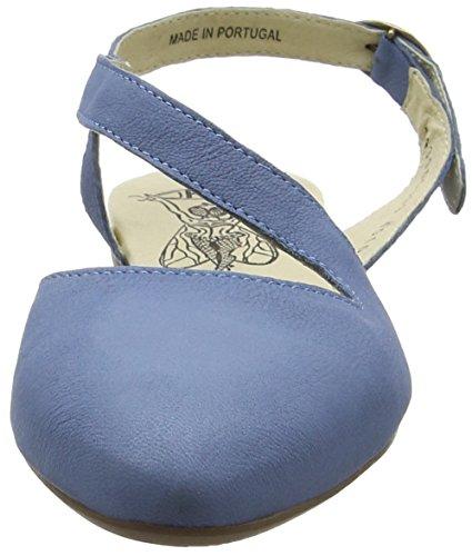 FLYA4|#Fly London Mega905fly, Bailarinas para Mujer Azul (Smurf Blue 003)