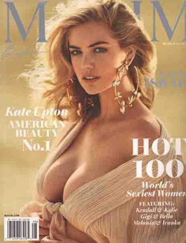 Maxim Magazine (July/August, 2018) Kate Upton Cover