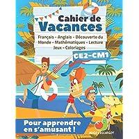 Cahier de vacances CE2-CM1 (French Edition)