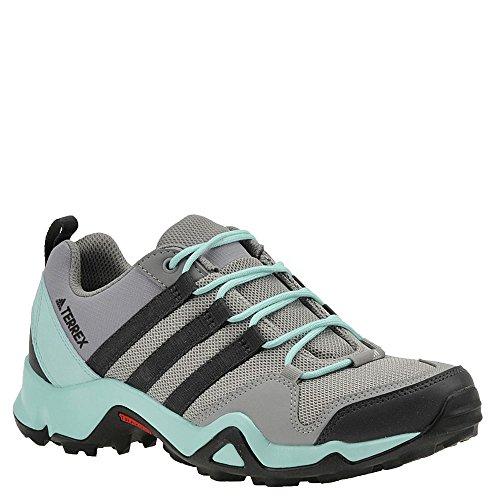 Adidas Outdoor Terrex AX2R Hiking Shoe - Women's CH Solid Grey/Dgh Solid Grey/Clear Aqua, 8.5