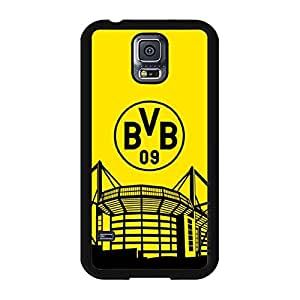 Elegant BVB Borussia Dortmund Phone Case Plastic PC Cover for Samsung Galaxy S5 I9600 with BVB09 Design