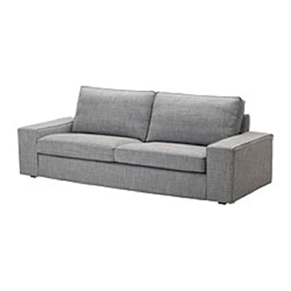 Ikea Kivik Three Seat Sofa Slipcover Isunda Grey 302.750.74