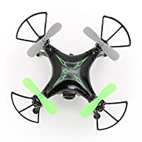 Contixo F3 World's Easiest App Track-Controlled Mini Drone with 720P HD WiFi Camera, 2.4GHz 4CH 6-Axis Gyro RC Quadcopter, Gravity Sensor, One-Key Landing Takeoff, TWO Batteries from Contixo