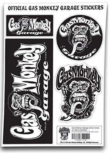 Gas monkey garage decal