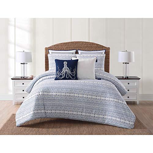 Oceanfront Resort CS2358KG-1500 ((3 Piece) Comforter Set, King, Reef Point (Renewed)