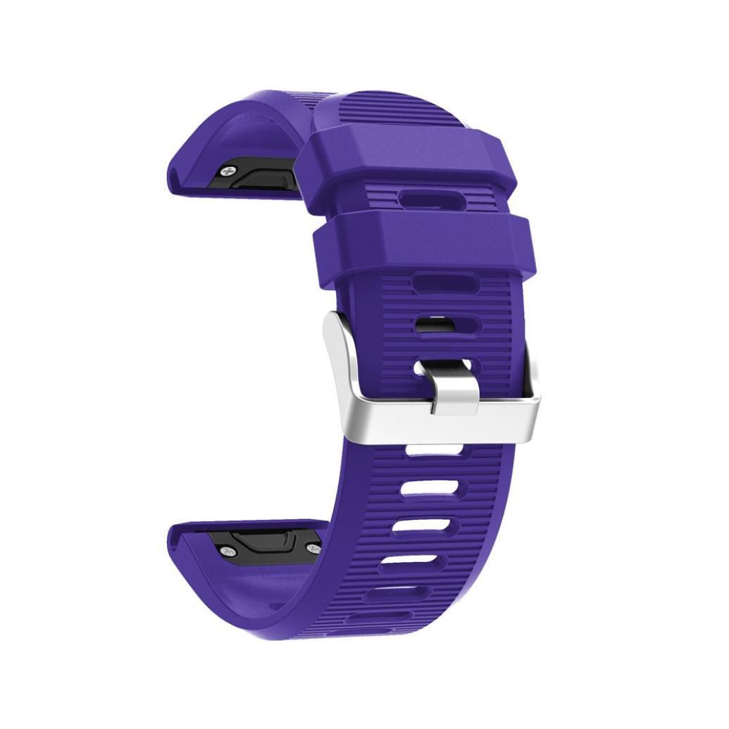 Correa de reloj barato para Garmin Fenix 5X - correa de banda de kit de lanzamiento rápido garmin fenix 5x correa quickfit de silicona para Garmin Fenix ...