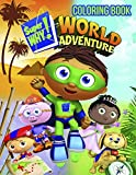 super why books - Super Why Coloring Book: Great Coloring Book for Kids