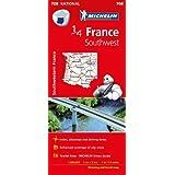 Southwestern France - Michelin National Map 708 (Michelin National Maps)