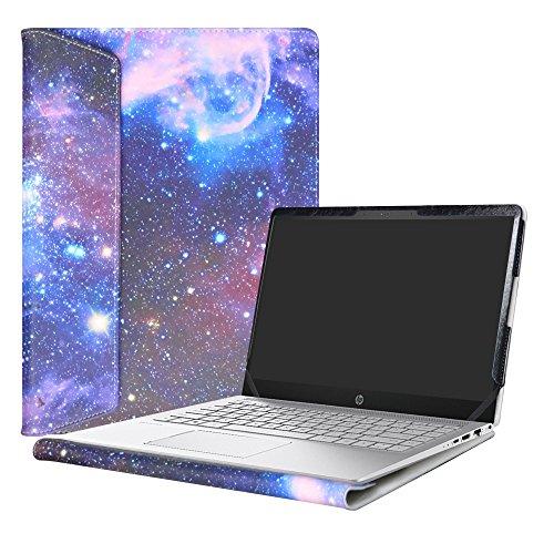 Alapmk Protective Case Cover for 14 HP Pavilion 14 14-bfXXX 14-ceXXX/Pavilion x360 14 14-cdXXX 14M-cdXXX Sereis Laptop(Not fit Pavilion 14 14-bkXXX 14-bXXX/Pavilion 14 x360 14-baXXX),Galaxy