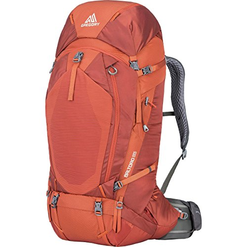 Gregory Mountain Products Men's Baltoro 65 Liter Backpack, Ferrous Orange, Medium