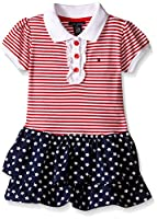 Tommy Hilfiger Baby-Girls Yarn Dyed and ...
