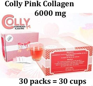 Amazon.com: Colly rosa Colágeno Suplemento dietético bebida ...