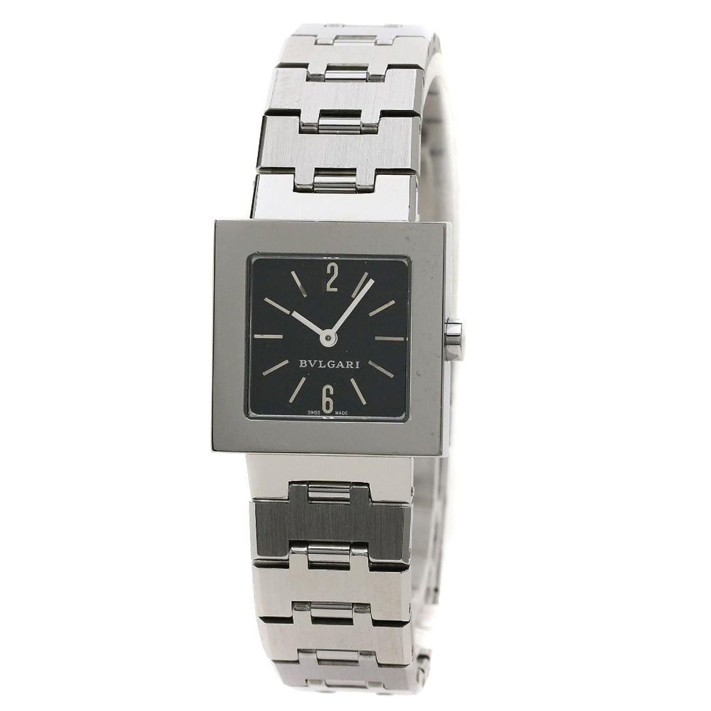 [ブルガリ]クアドラード 腕時計 ステンレス/SS レディース (中古) B07BT39MB2